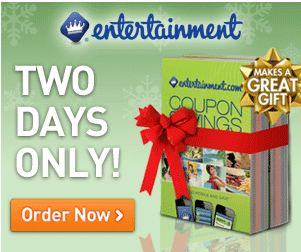 entertainment coupon book deal
