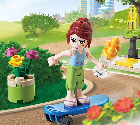 mias skateboard lego friends