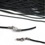 Leather necklace chains