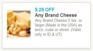New Cheese Coupon 300x166 Fresh Market Weekly Deals: May 29   June 4