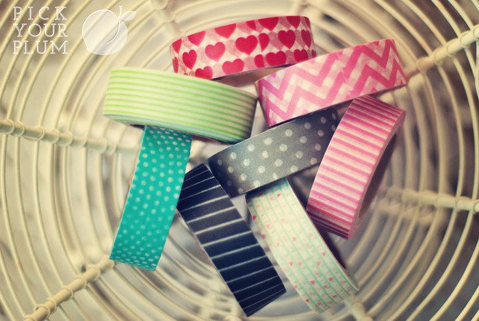 Pick Your Plum Washi Deal