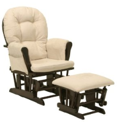 Stork craft ottoman Glider with Ottoman for $129 Shipped!