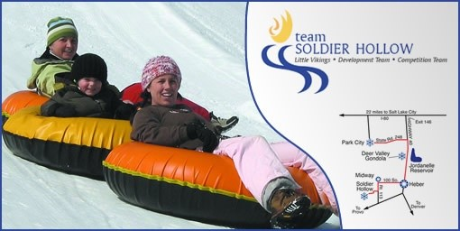 Tubing at Soldier Hollow Deal