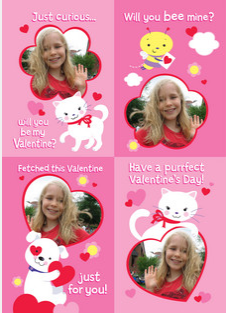 cardstore valentines day kids card