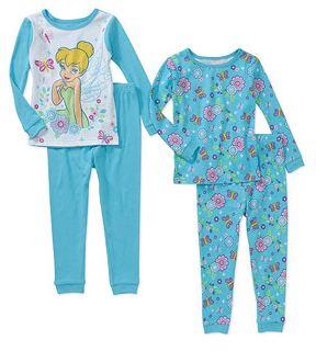 walmart girls pajamas 2 sets