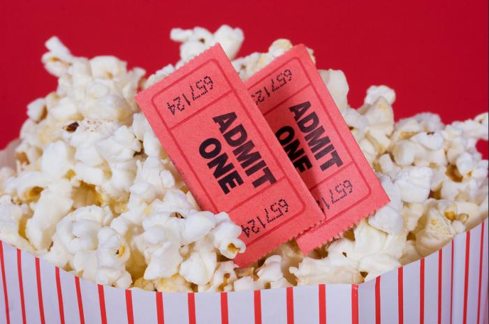 Popcorn Movie Ticket deal