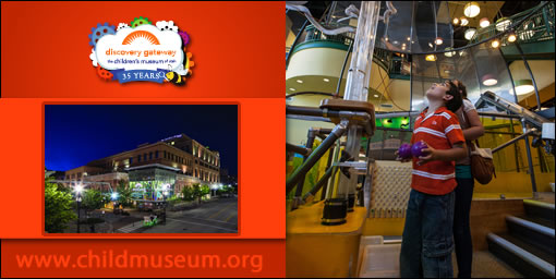 Discovery Gateway Children S Museum Day Pass For Only 4 25 Utah
