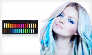 groupon hair color chalk