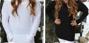long fleece hoodie blowout very jane sale