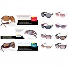 9 pair womens branded sunglasses