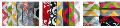 Chevron Headbands 1 Chevron Fabric Headbands $3.99 (lots of color options!)