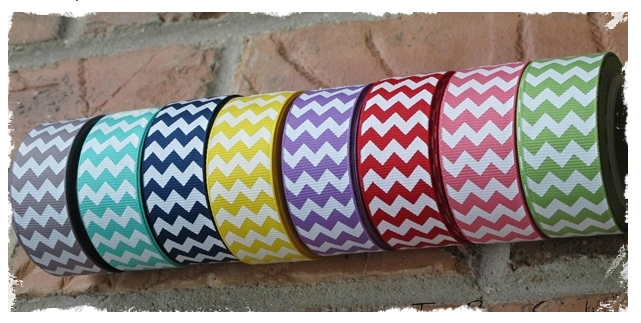 Chevron Ribbon Rumble