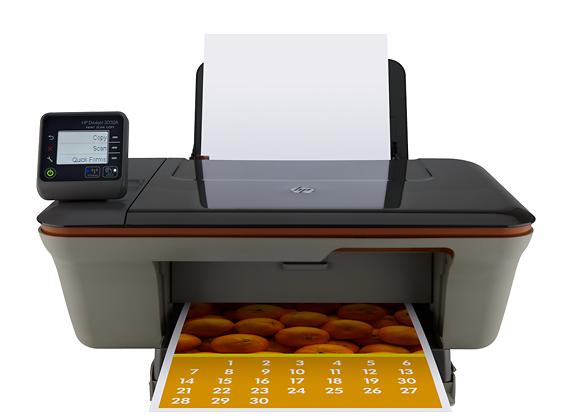 HP - Deskjet Network-Ready Wireless Color e-All-In-One Printer