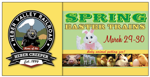 Heber Valley Railroad Easter 2