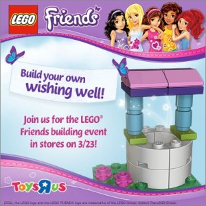 Lego Friends Toys R Us Event