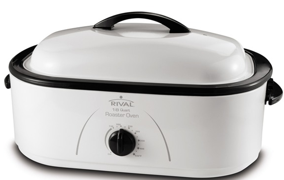 Rival 18 quart roaster oven