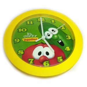 VeggieTales Wall Clock
