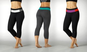 bally fitness capri leggings