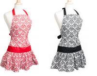 flirty apron damask apron