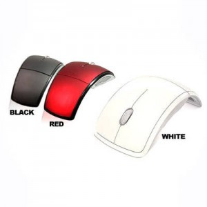 foldable wireless optical mouse