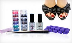 glitter toes kit