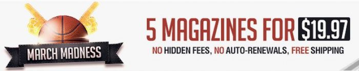 march madness discountmags sale
