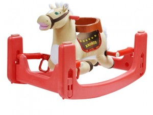rock and bounce horse