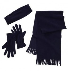 scarf headband and glove deal