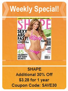 shape weekly special
