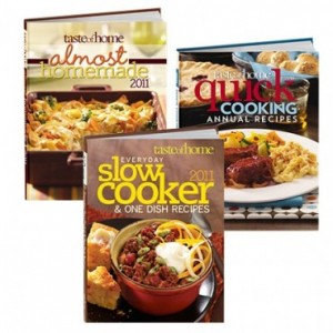 taste of home set of 3 books