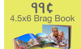 99¢ brag book at walgreens deal