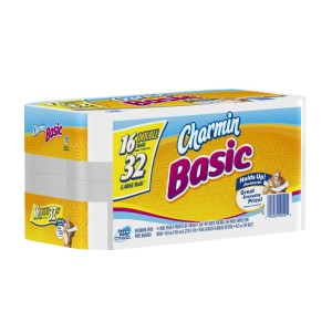 Charmin Basic Tolet Paper 300x300 *Stock Up!* Charmin Basic Toilet Paper Double Rolls for 38¢ to 46¢/roll