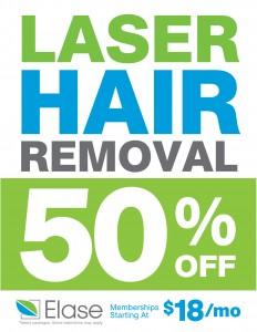 Elase Laser Hair Removal
