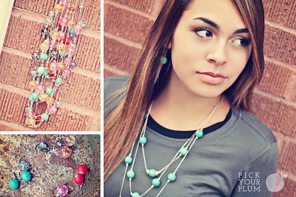Pick Your Plum Necklaces