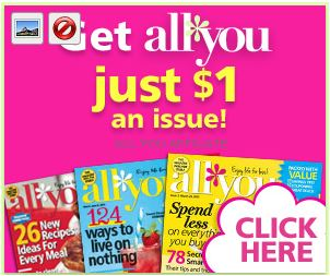 all you magazine $1 deal