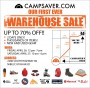 campsaver warehouse sale