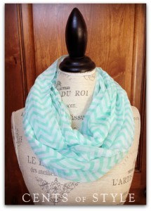 cents of style chevron scarf