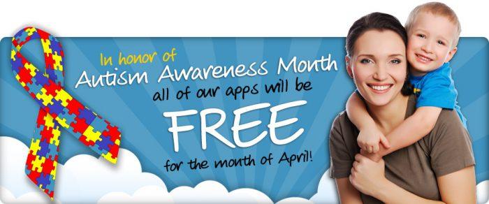 kindergarten dot com apps free autism awareness month