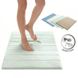 memory foam bath mat