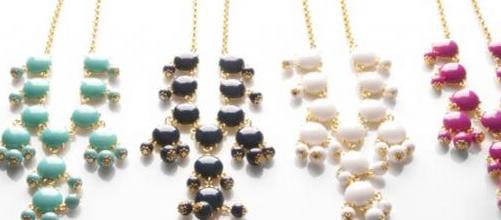 mini bubble necklaces
