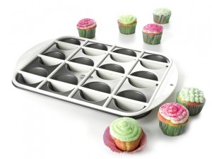 mrs fields half and half cupcake pan