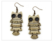 owl earrings