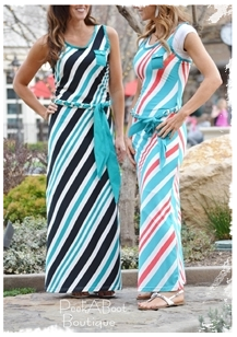 striped dresses 1