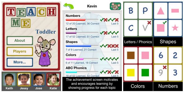 teachme toddler app