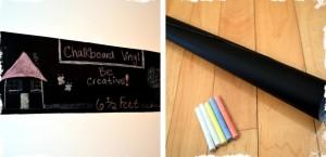 6 ft chalkboard vinyl