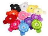 Daisy headbands Daisy Headbands (pack of 12) $9.99 shipped = $.83 each!