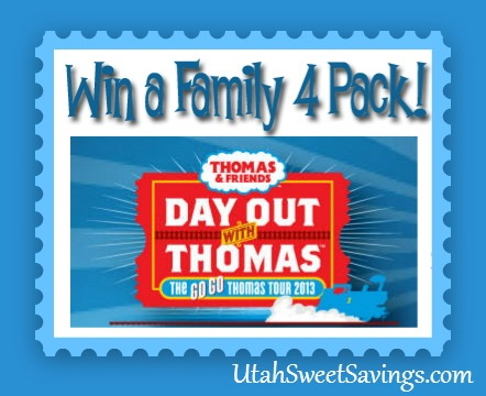 Family Four Pack Thomas the Train