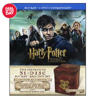 Harry Potter Harry Potter Wizards Collection (31 discs) $199.99 shipped (reg $500)