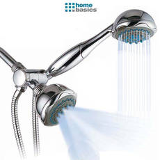 Home Basics 5 Functio Deluxe Twin Shower Head Massager