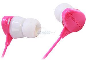 Pioneer Water-resistant Headphones Pink